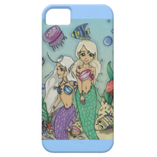 Undervattens- paradis för sjöjungfruar barely there iPhone 5 fodral