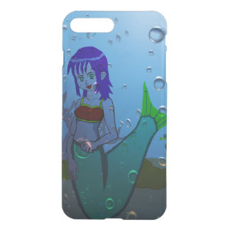 Undervattens- sjöjungfru iPhone 7 plus skal