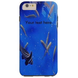 Undervattens- världsclownfishsimning i hav tough iPhone 6 plus fodral