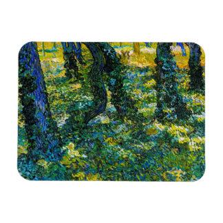 Undervegetation av Vincent Van Gogh Magnet