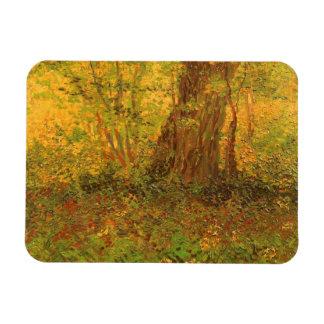 Undervegetation av Vincent Van Gogh, vintagekonst Magnet