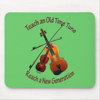Undervisa gammala Time Mousepad Musmatta