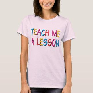 Undervisa mig en kurs t-shirt