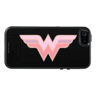 Undra den kvinnarosor och orangen kopplar ihop OtterBox iPhone 5/5s/SE skal