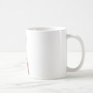 Undra korsad kvinnaärmar kaffemugg