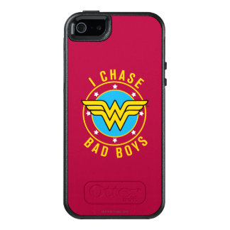 Undra kvinna - jag jagar dåligapojkar OtterBox iPhone 5/5s/SE skal