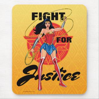 Undra kvinna med lassoen - slagsmål för rättvisa musmatta