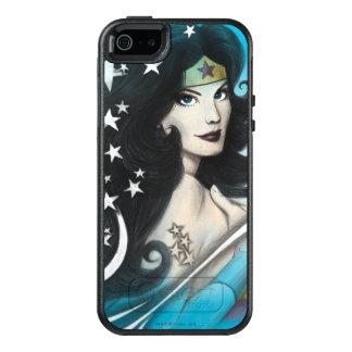 Undra kvinna och stjärnor OtterBox iPhone 5/5s/SE skal