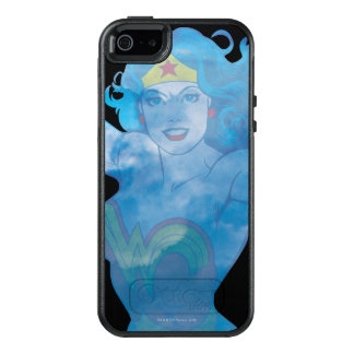 Undra kvinnablå himmelSilhouette OtterBox iPhone 5/5s/SE Skal