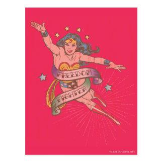 Undra kvinnafrihetskämpe vykort