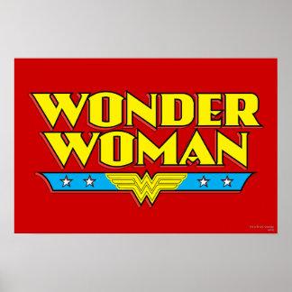 Wonder Woman Name and Logo
