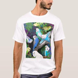 Undulatparakiter- och FernsT-tröja Tee Shirt