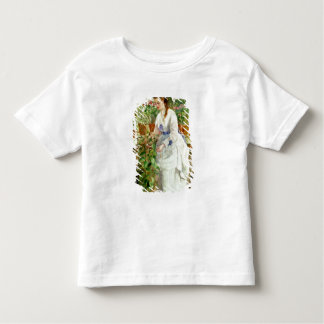 Ung dam i en drivhus tee shirts