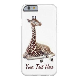 Ung giraff på Rest fodral för iPhone 6 Barely There iPhone 6 Skal