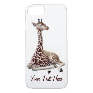 Ung giraff på Rest fodral för iPhone 7