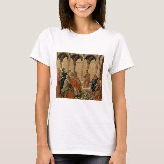 Ung Jesus undervisning i tempelet T-shirts