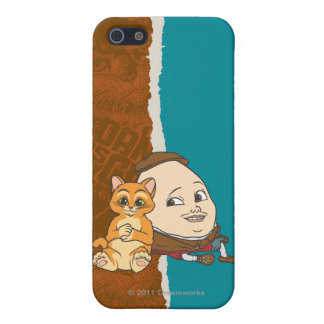 Ung kissekatt & Humpty iPhone 5 Fodraler