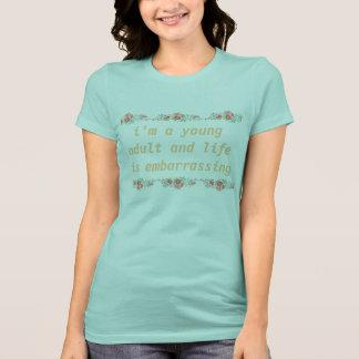 ung vuxen tee shirts