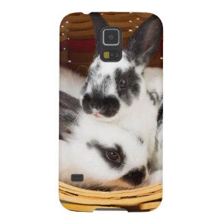 Unga Rex kaniner i påskbasket 2 Galaxy S5 Fodral