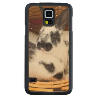 Unga Rex kaniner i påskbasket 2 Maple Galaxy S5 Slim Case