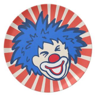 Ungar för party för karneval för cirkus för tallrik