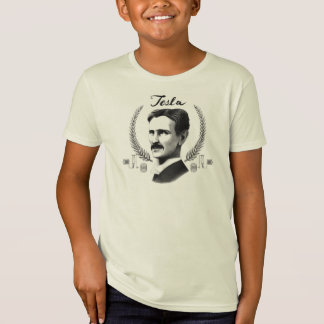 Ungar för Tesla den ORGANISKA T-tröja Tshirts