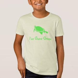 Ungar har jag borta grönt tee shirt