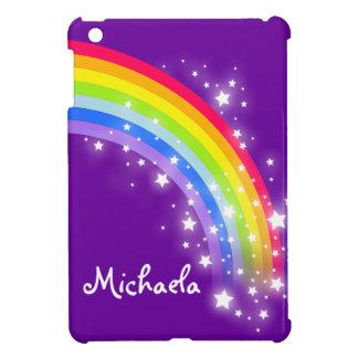 Ungar namngav den färgrika regnbågen det iPad mini mobil skal