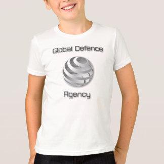Ungar som beklär med GDA, planlägger - vit endast! Tröja