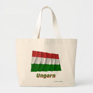 Ungarn Fliegende Flagge mit Namen Kasse