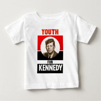 Ungdom för presidenten John F. Kennedy Tshirts