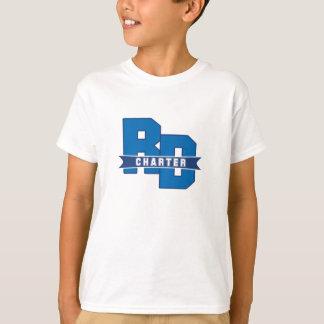 Unge för flodstranddrevcharter t-shirts