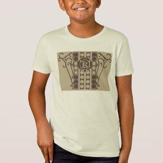 Unge för IRONWORK SCROLLWORK 2 organ för dräkt för Tee Shirts