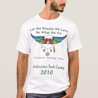 Unge för Mendocino Sufi läger 2010 T-tröja Tshirts