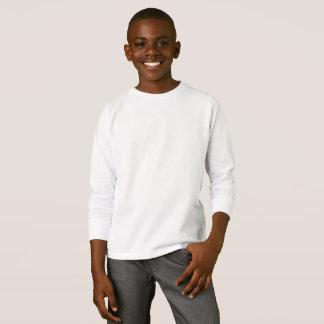 Unge grundläggande långärmadT-tröja Tshirts