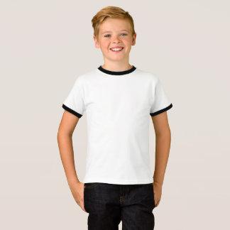 Unge grundläggande RingerT-tröja T Shirt