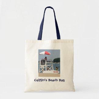Unge livräddarestrand Beachbag Tygkasse