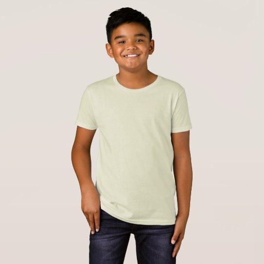 Barn American Apparel Ekologisk T-Shirt, Natur