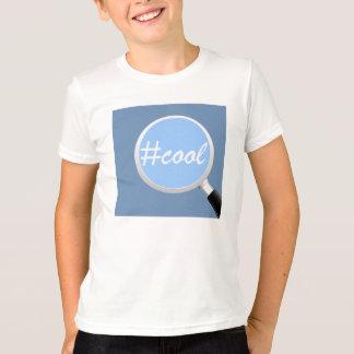 Unge social T-tröja för #COOL för massmediasökande Tee
