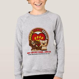 Unge tröja för Raglan för amerikandräkt