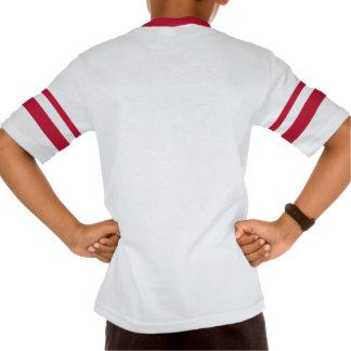 Unge V-Nacke för Augusta Retro randig sleeve T-trö T-shirts