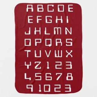 Ungebabybarn som alfabet numrerar, lärer fynd bebisfilt
