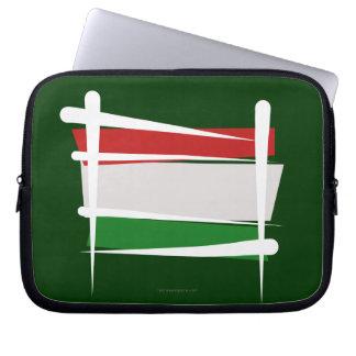 Ungern borstar flagga laptop sleeve