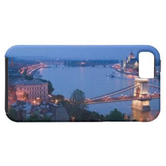 UNGERN Budapest: Szechenyi (kedja), överbryggar, 2 iPhone 5 Fodraler