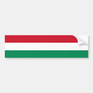 Ungern/ungersk flagga bildekal