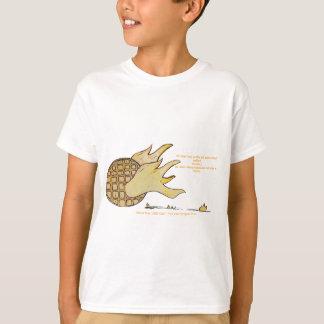 Ungetecken som lite beklär från kocken för bok t-shirt