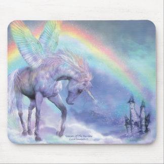 Unicorn av regnbågen Mousepad Musmatta