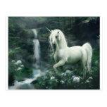 unicorn-fantasi vykort