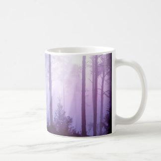 Unicorn i skogen kaffemugg