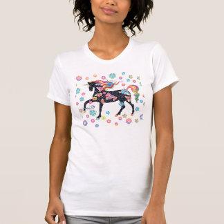 Unicorn - mörk - blått t-shirt